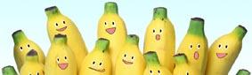 banana isolated white